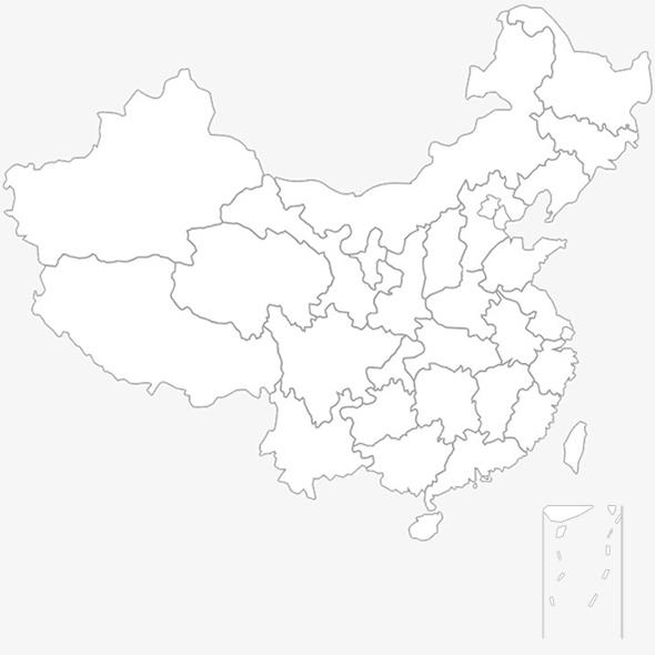 地图 简笔画 手绘 线稿 591_491